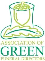 Green Funeral Association logo
